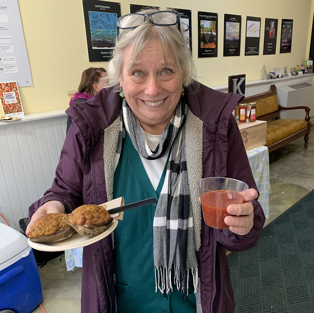 Open Studios Event 2019 Happy Customer